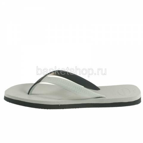 белые, черные  сланцы casual 4103276-0205 - цена, описание, фото 2