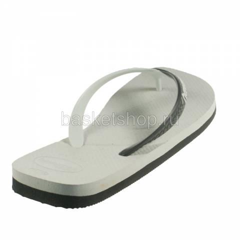 белые, черные  сланцы casual 4103276-0205 - цена, описание, фото 3