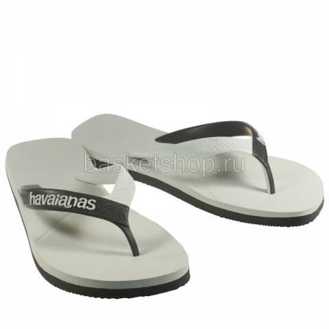 белые, черные  сланцы casual 4103276-0205 - цена, описание, фото 1