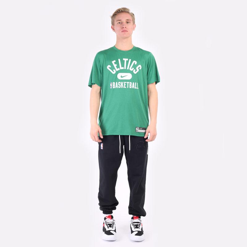 мужская зеленая футболка Nike Boston Celtics Dri-FIT NBA T-Shirt DA5914-312 - цена, описание, фото 6