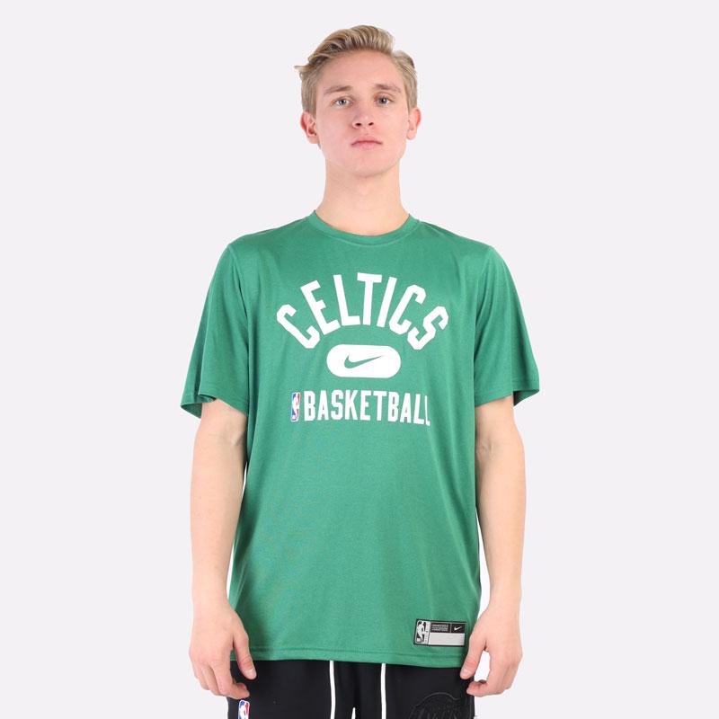 мужская зеленая футболка Nike Boston Celtics Dri-FIT NBA T-Shirt DA5914-312 - цена, описание, фото 3