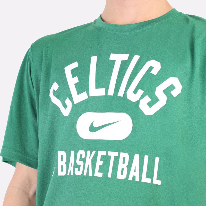 мужская зеленая футболка Nike Boston Celtics Dri-FIT NBA T-Shirt DA5914-312 - цена, описание, фото 2
