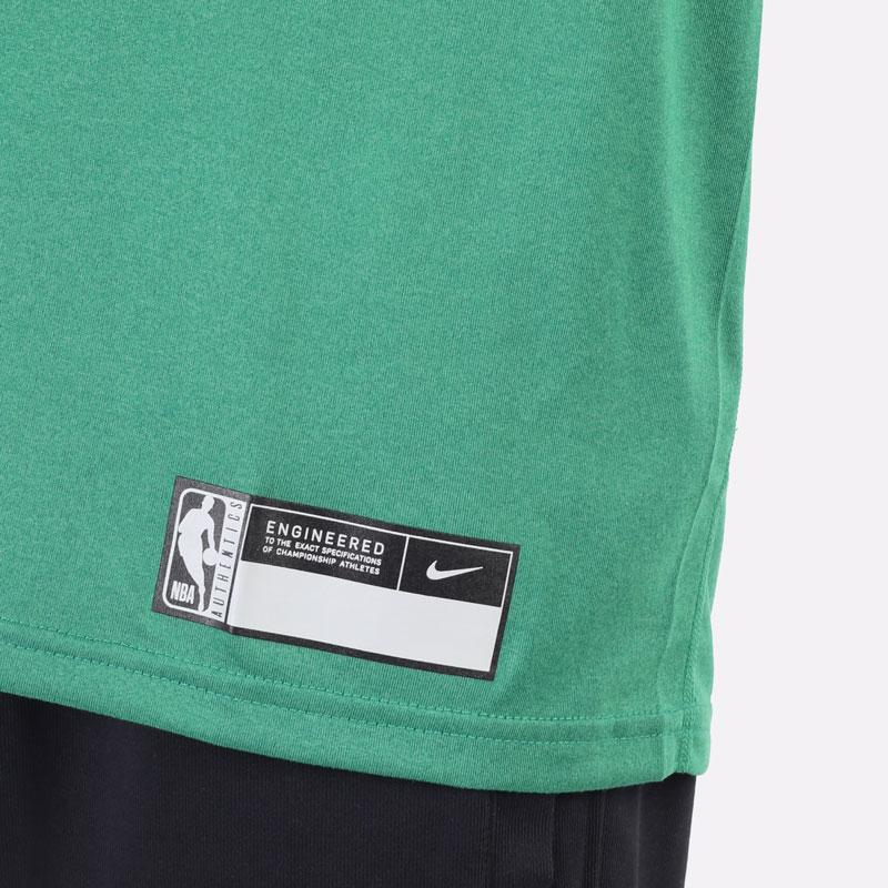 мужская зеленая футболка Nike Boston Celtics Dri-FIT NBA T-Shirt DA5914-312 - цена, описание, фото 4