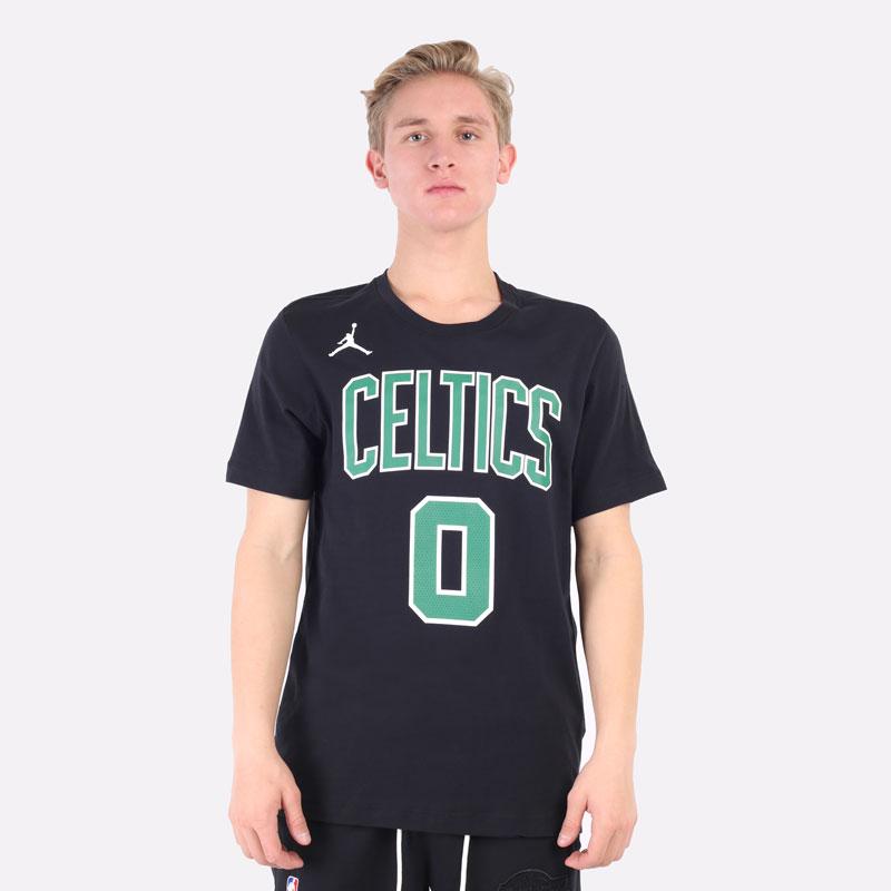 мужская черная футболка Jordan NBA Boston Celtics Essential Statement Edition Tee CV9964-011 - цена, описание, фото 4