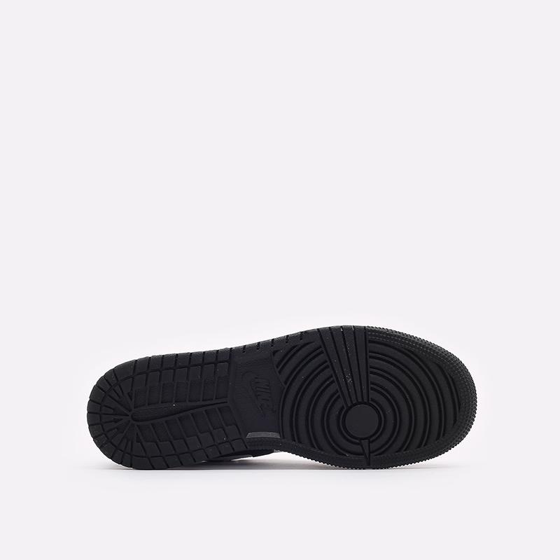 женские бордовые кроссовки Jordan 1 Low SE (GS) DM0589-635 - цена, описание, фото 5