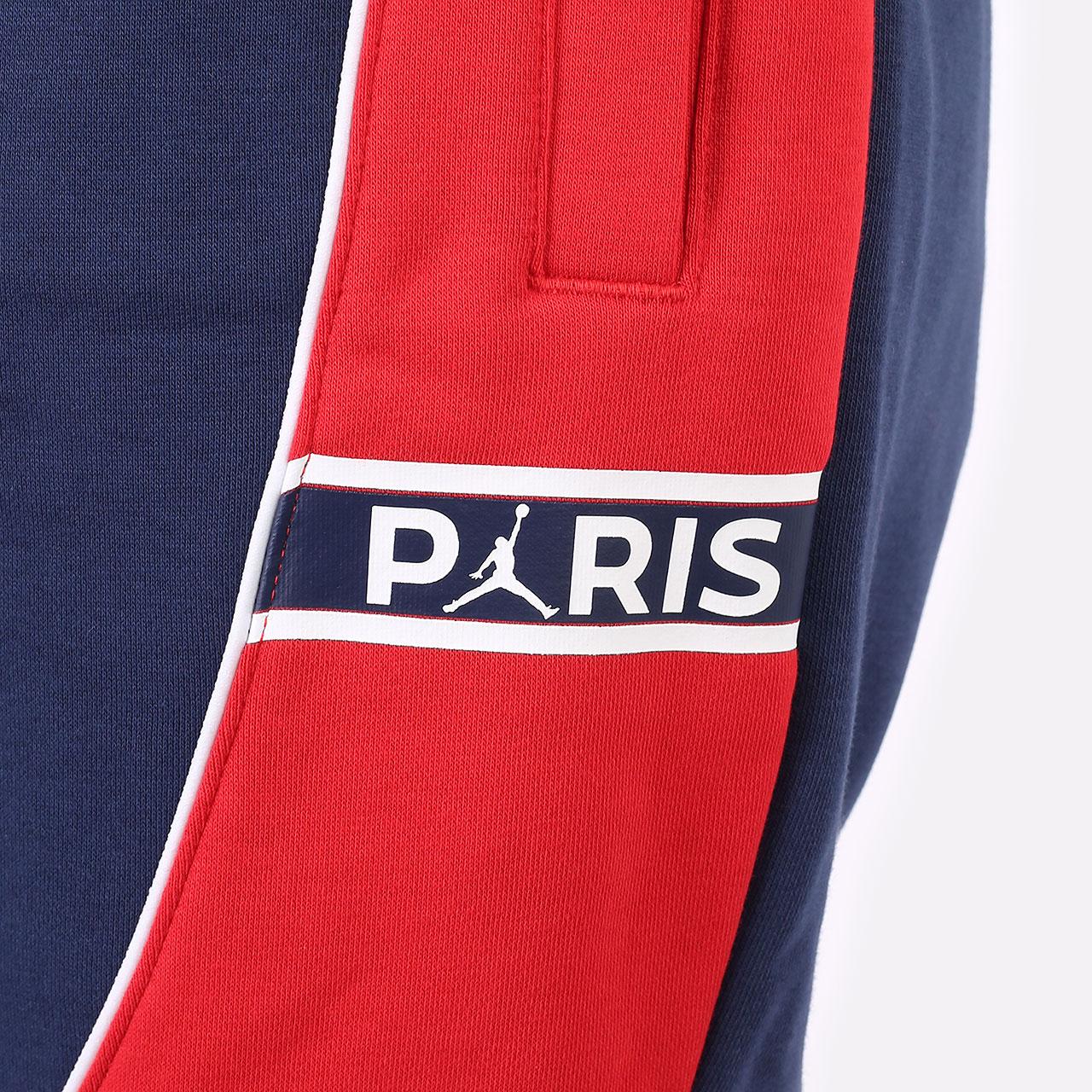 женские синие брюки Jordan Paris Saint-Germain DC0455-410 - цена, описание, фото 3
