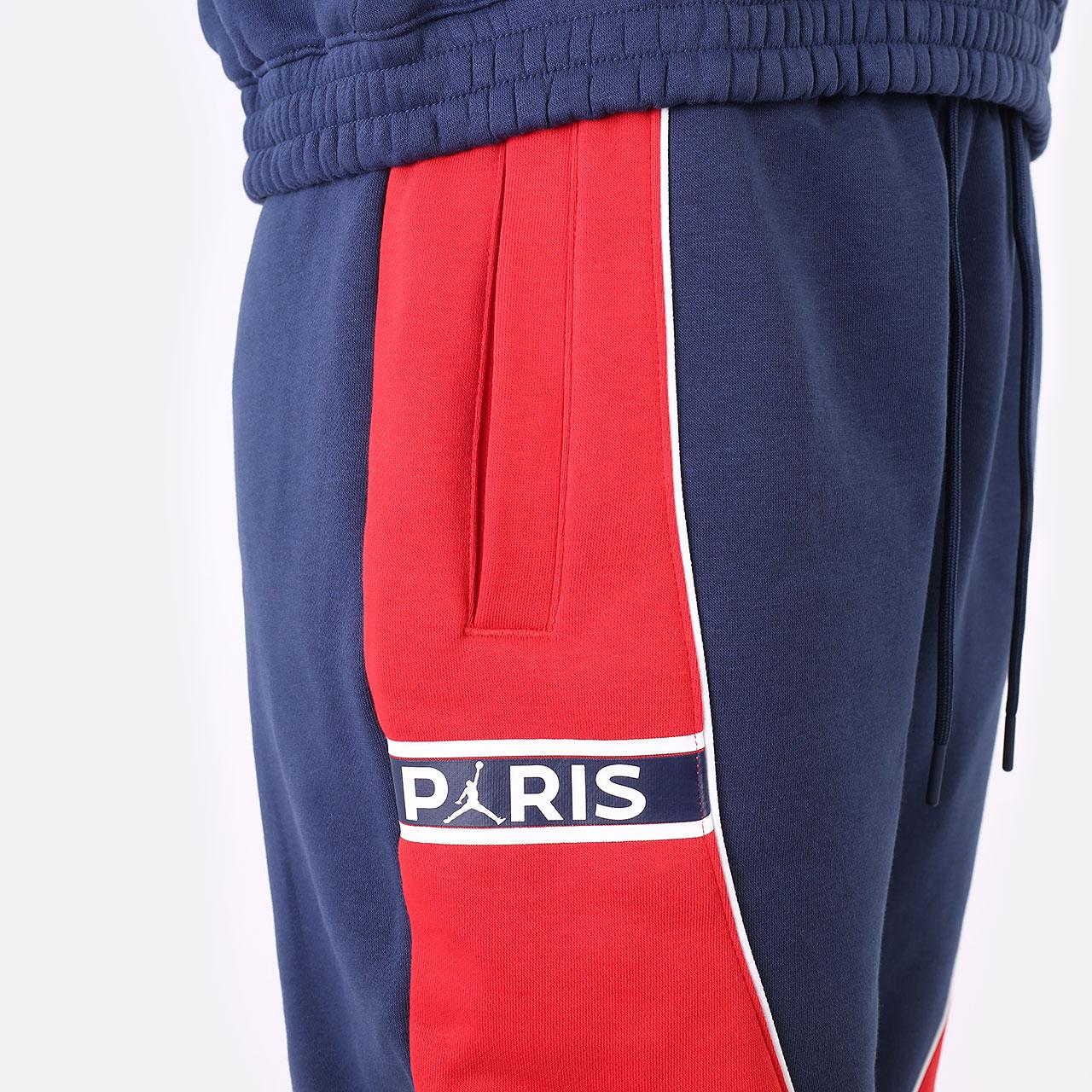 женские синие брюки Jordan Paris Saint-Germain DC0455-410 - цена, описание, фото 2