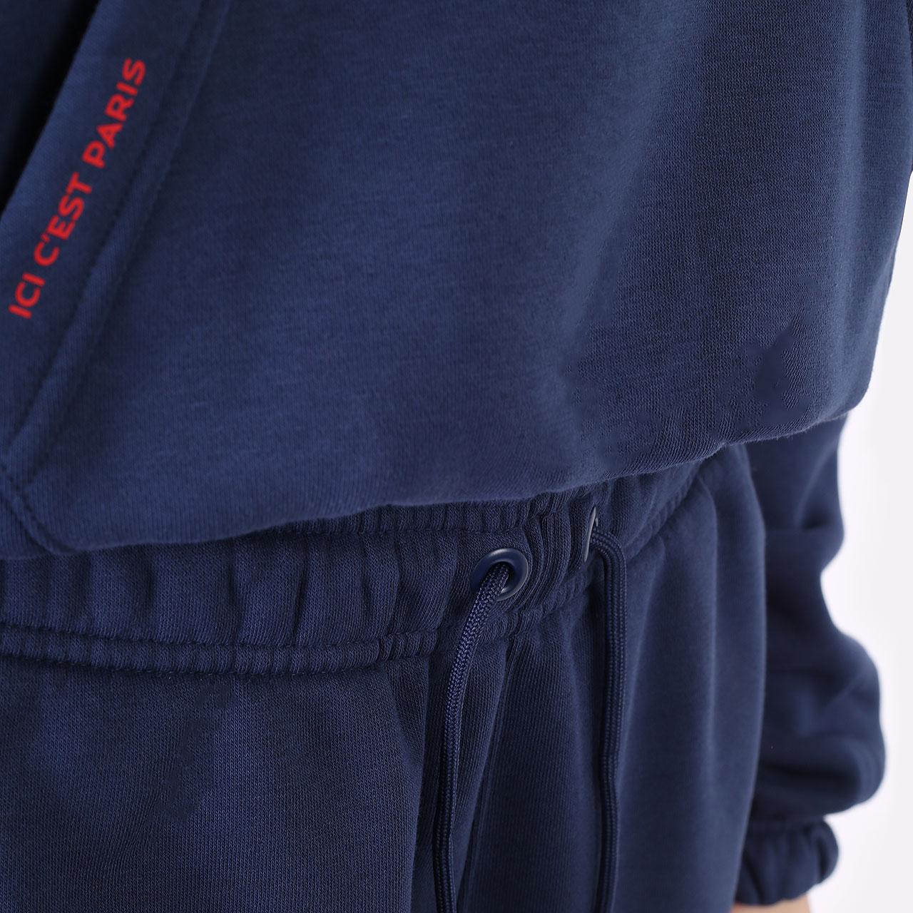 женские синие брюки Jordan Paris Saint-Germain DC0455-410 - цена, описание, фото 5