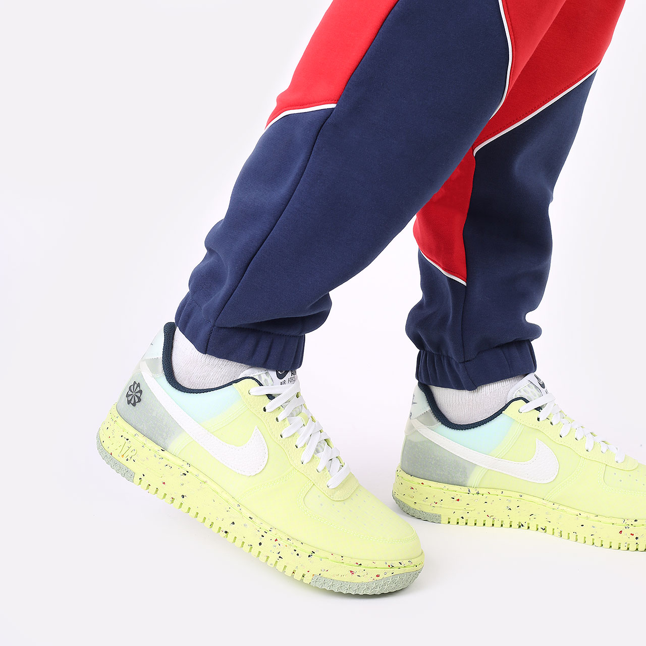 женские синие брюки Jordan Paris Saint-Germain DC0455-410 - цена, описание, фото 4