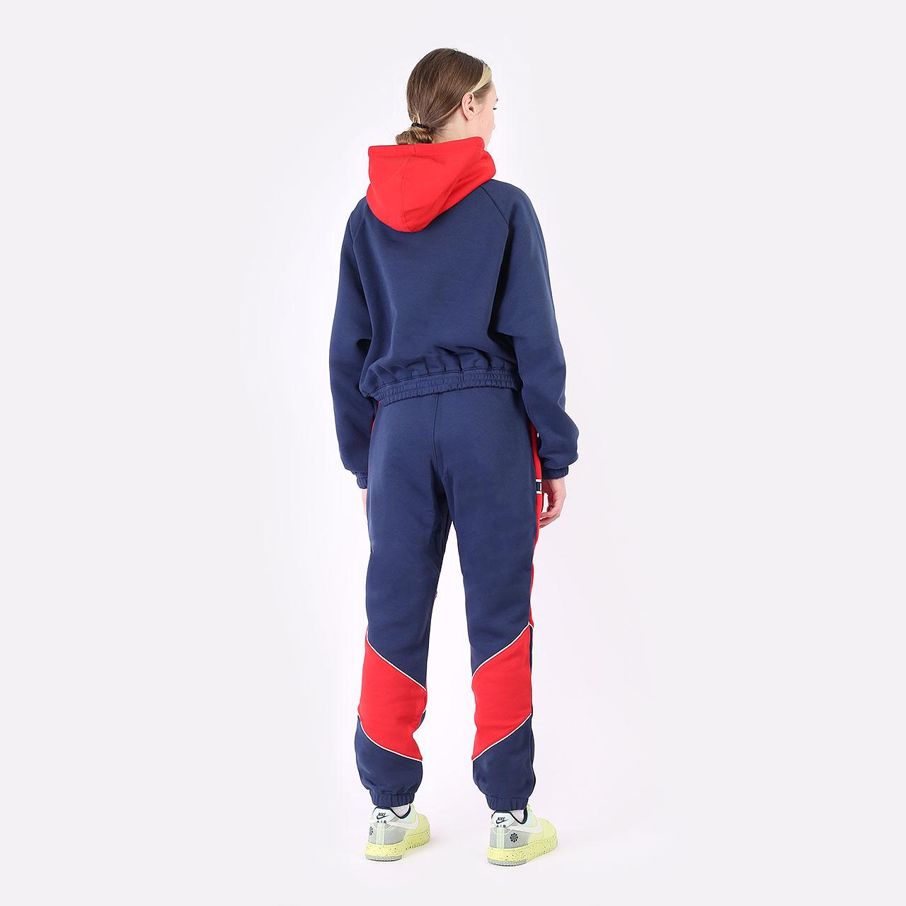 женские синие брюки Jordan Paris Saint-Germain DC0455-410 - цена, описание, фото 6