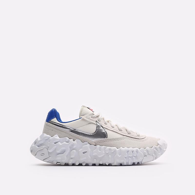 мужские бежевые кроссовки Nike Overbreak DC3041-001 - цена, описание, фото 1