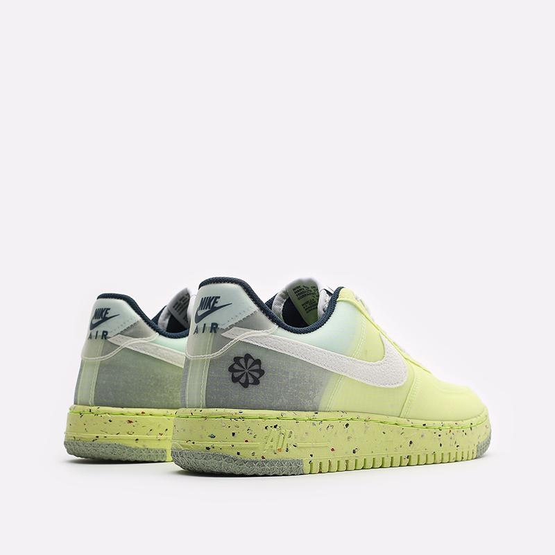 мужские желтые кроссовки Nike Air Force 1 Crater DH2521-700 - цена, описание, фото 3