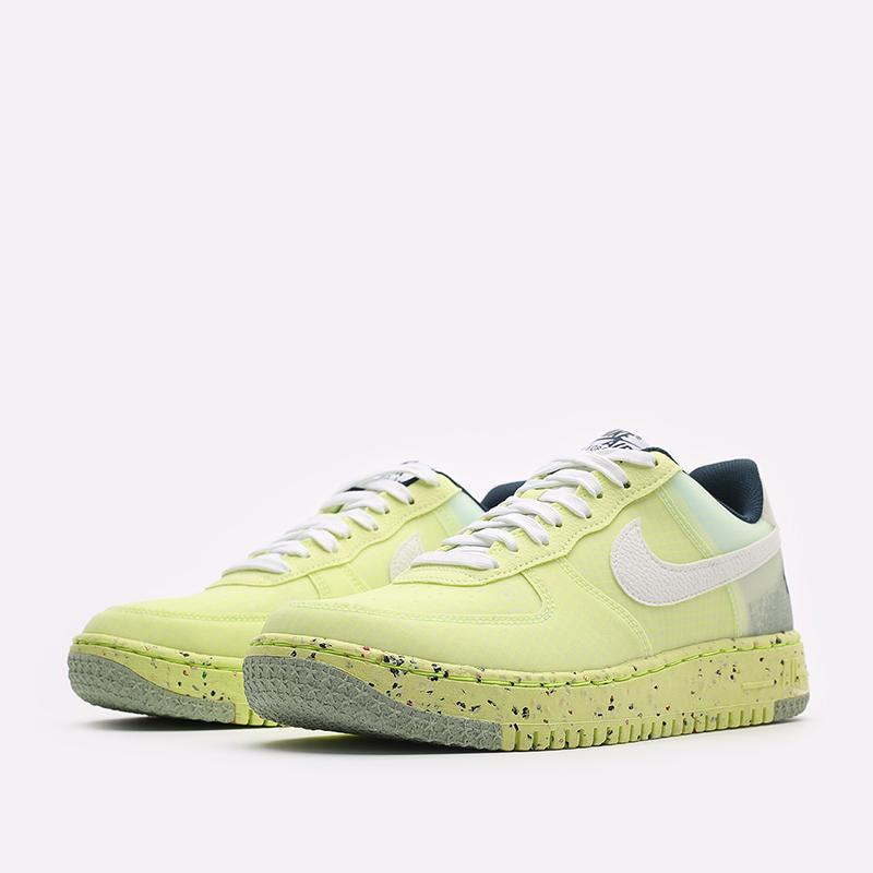 мужские желтые кроссовки Nike Air Force 1 Crater DH2521-700 - цена, описание, фото 4