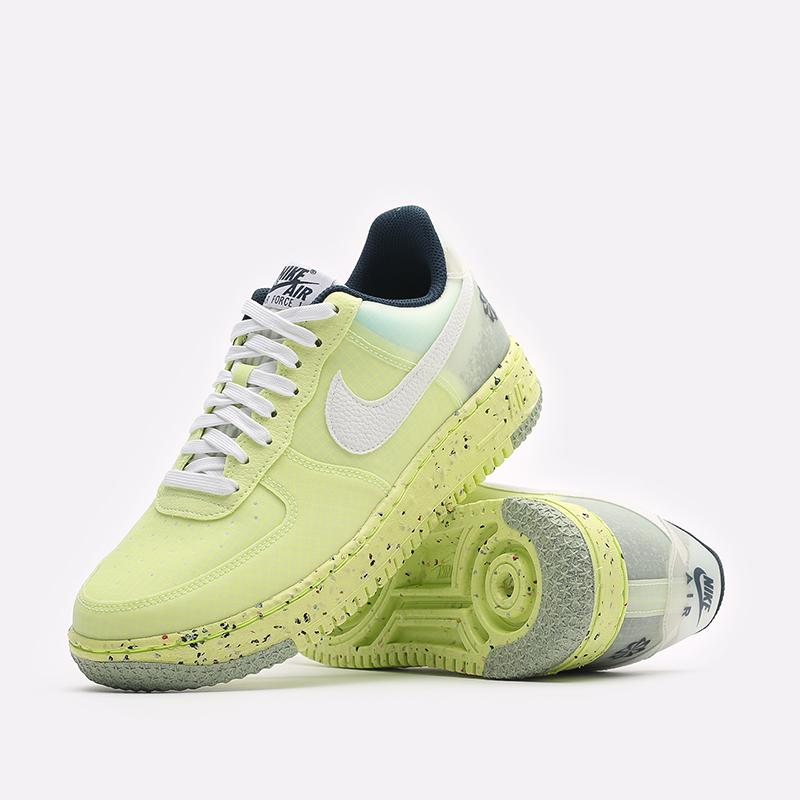 мужские желтые кроссовки Nike Air Force 1 Crater DH2521-700 - цена, описание, фото 2