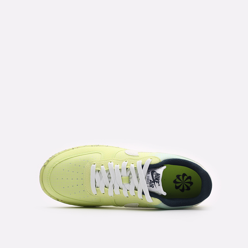 мужские желтые кроссовки Nike Air Force 1 Crater DH2521-700 - цена, описание, фото 6