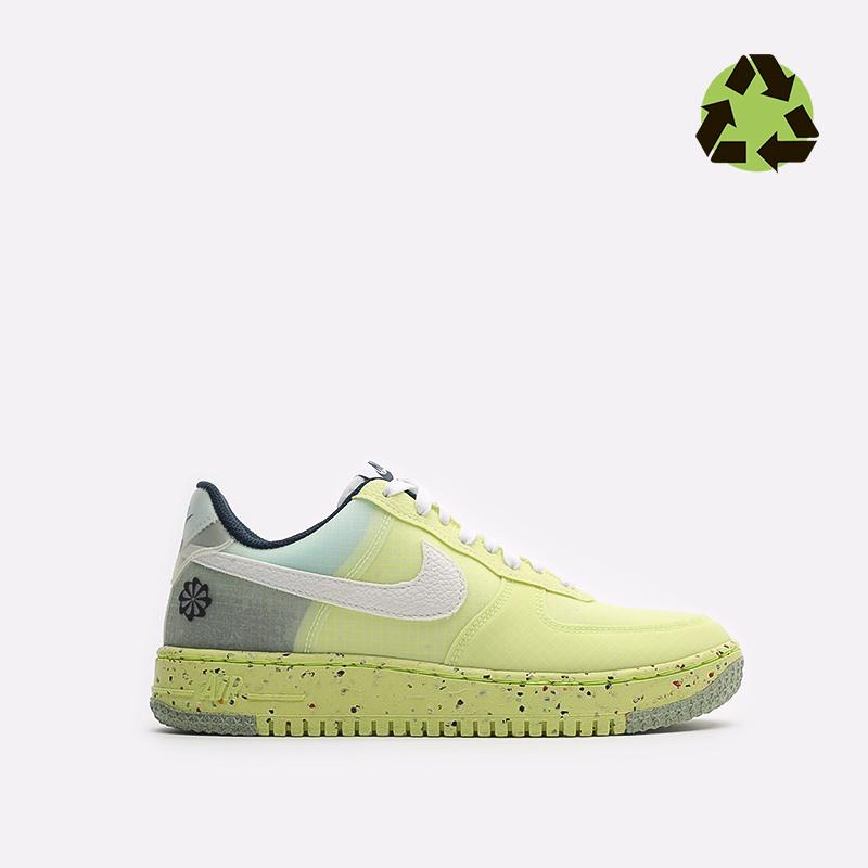 мужские желтые кроссовки Nike Air Force 1 Crater DH2521-700 - цена, описание, фото 1