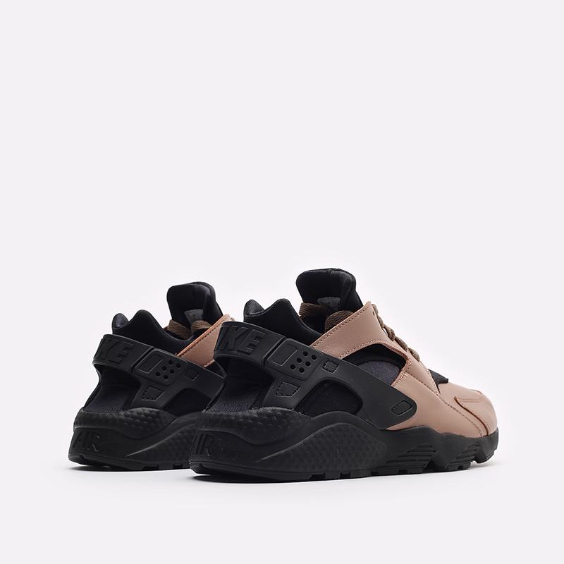 мужские черные кроссовки Nike Air Huarache LE DH8143-200 - цена, описание, фото 3