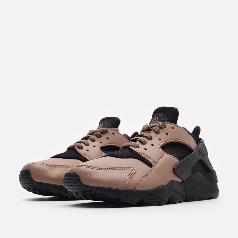 мужские черные кроссовки Nike Air Huarache LE DH8143-200 - цена, описание, фото 4