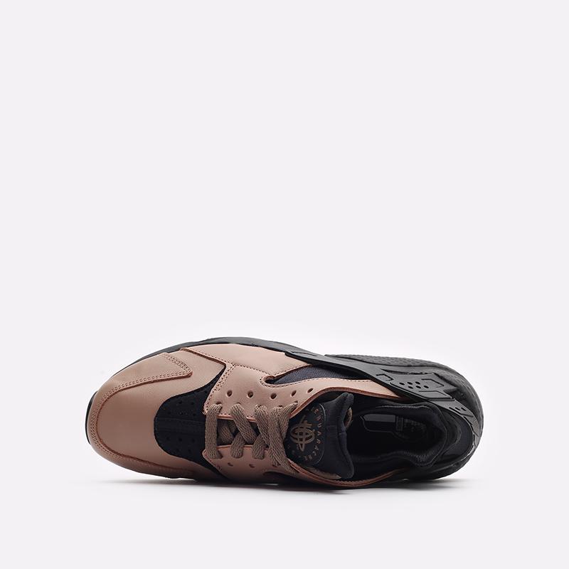 мужские черные кроссовки Nike Air Huarache LE DH8143-200 - цена, описание, фото 6