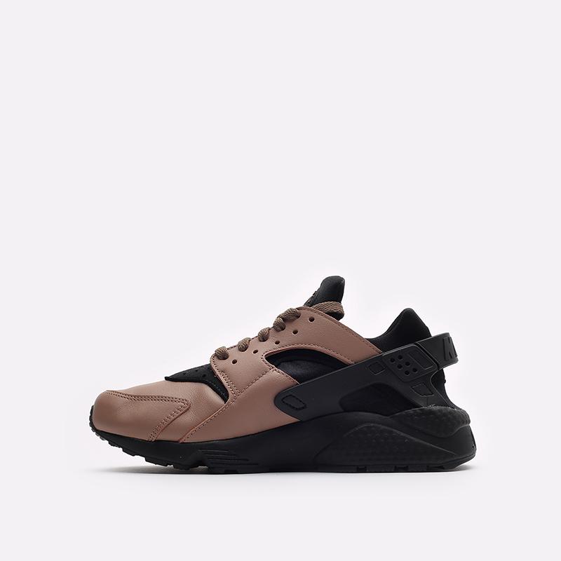 мужские черные кроссовки Nike Air Huarache LE DH8143-200 - цена, описание, фото 2