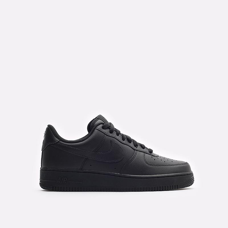 мужские черные кроссовки Nike Air Force 1 '07 CW2288-001 - цена, описание, фото 1
