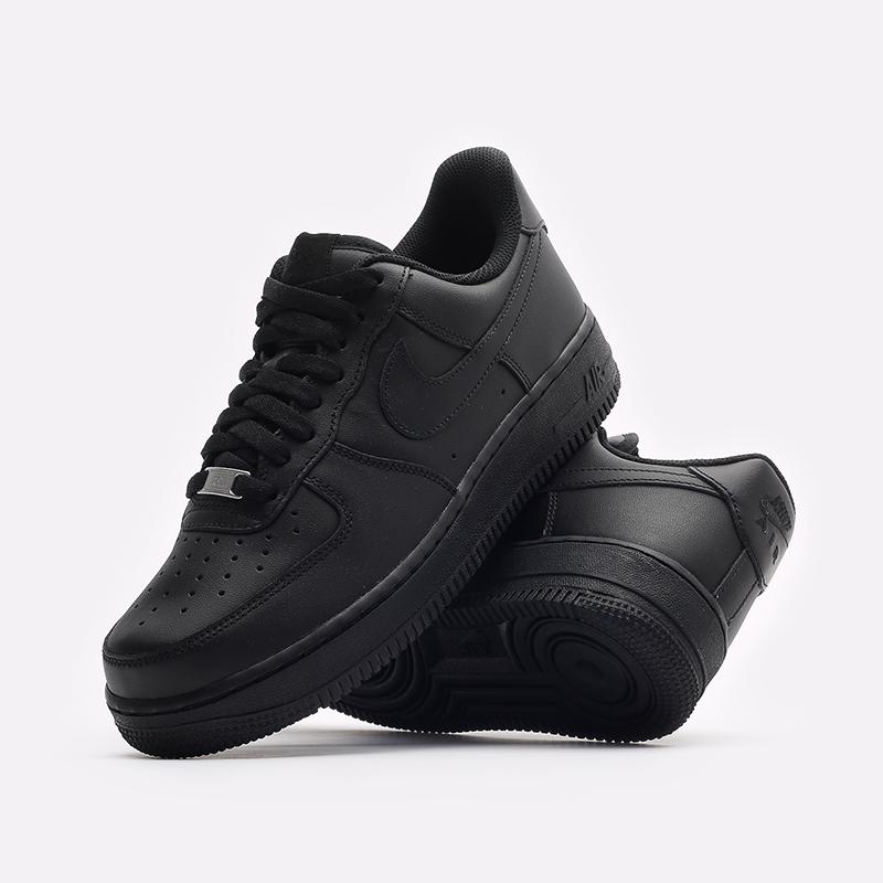 мужские черные кроссовки Nike Air Force 1 '07 CW2288-001 - цена, описание, фото 2