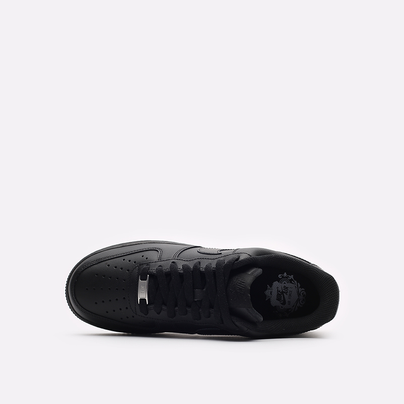мужские черные кроссовки Nike Air Force 1 '07 CW2288-001 - цена, описание, фото 6