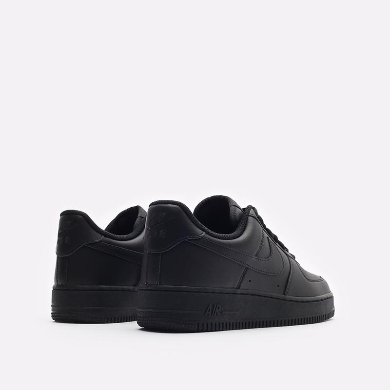 мужские черные кроссовки Nike Air Force 1 '07 CW2288-001 - цена, описание, фото 3