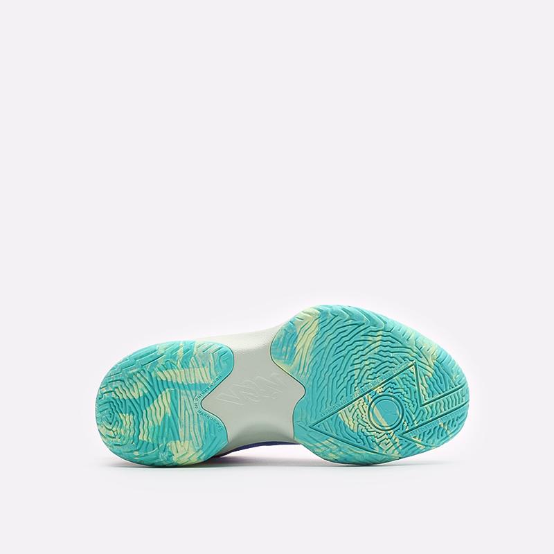 женские разноцветные баскетбольные кроссовки Jordan Zion 1 (GS) DA3131-800 - цена, описание, фото 5