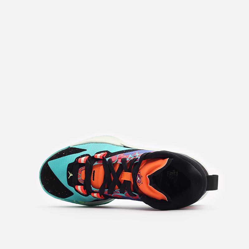 женские разноцветные баскетбольные кроссовки Jordan Zion 1 (GS) DA3131-800 - цена, описание, фото 6