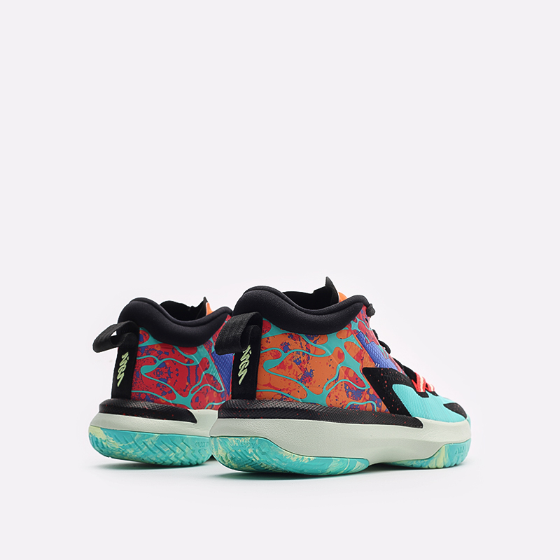 женские разноцветные баскетбольные кроссовки Jordan Zion 1 (GS) DA3131-800 - цена, описание, фото 3