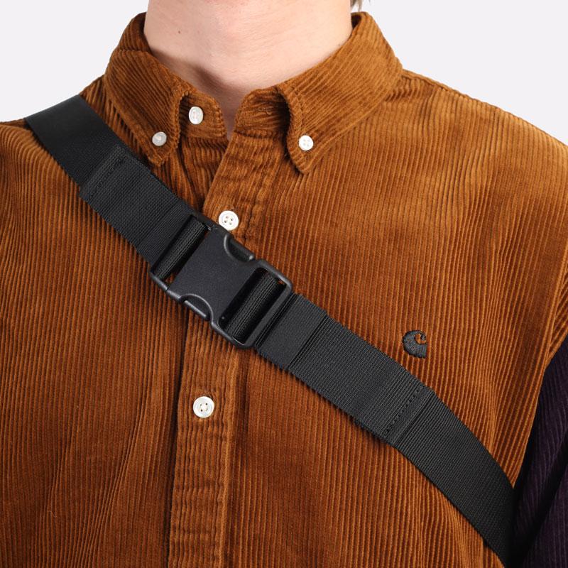 фиолетовая сумка Carhartt WIP Flint Hip Bag I029506-tobacco - цена, описание, фото 2