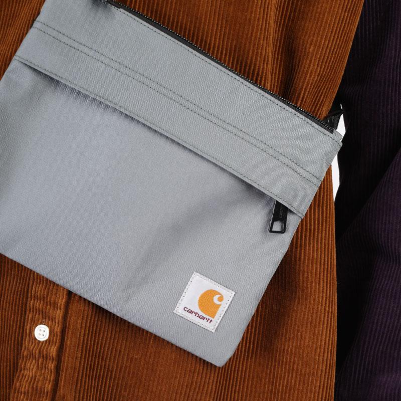 зеленая сумка Carhartt WIP Vernon Strap Bag I029499-thyme - цена, описание, фото 4