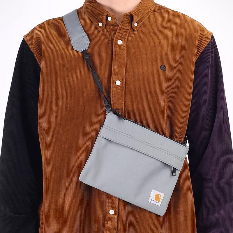 зеленая сумка Carhartt WIP Vernon Strap Bag I029499-thyme - цена, описание, фото 1