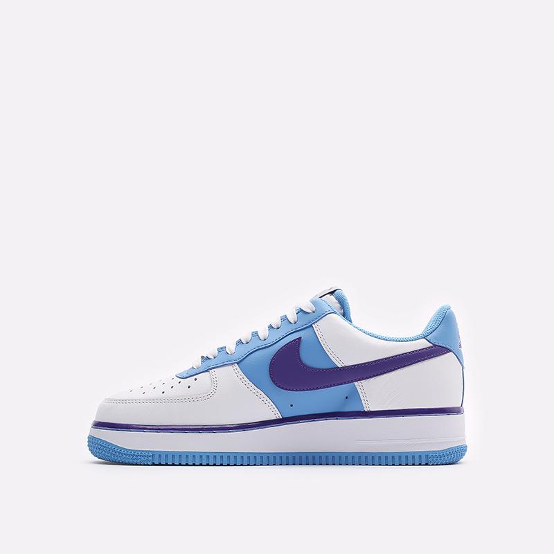 мужские белые кроссовки Nike Air Force 1 '07 LV8 EMB DC8874-101 - цена, описание, фото 2