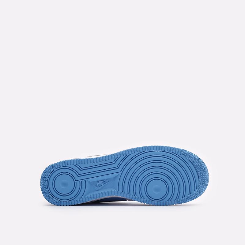 мужские белые кроссовки Nike Air Force 1 '07 LV8 EMB DC8874-101 - цена, описание, фото 5