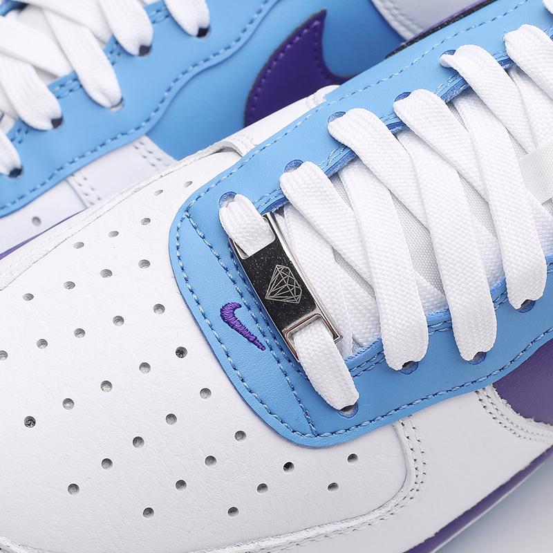 мужские белые кроссовки Nike Air Force 1 '07 LV8 EMB DC8874-101 - цена, описание, фото 7