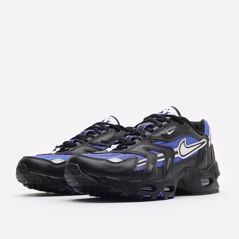 мужские черные кроссовки Nike Air Max 96 II DB0251-500 - цена, описание, фото 4