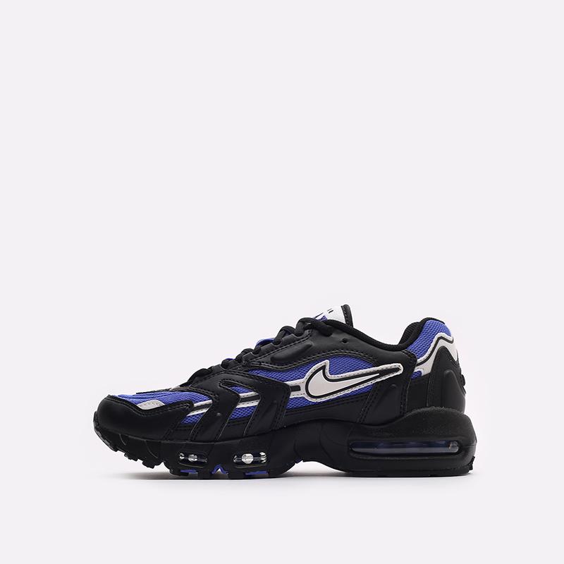 мужские черные кроссовки Nike Air Max 96 II DB0251-500 - цена, описание, фото 2