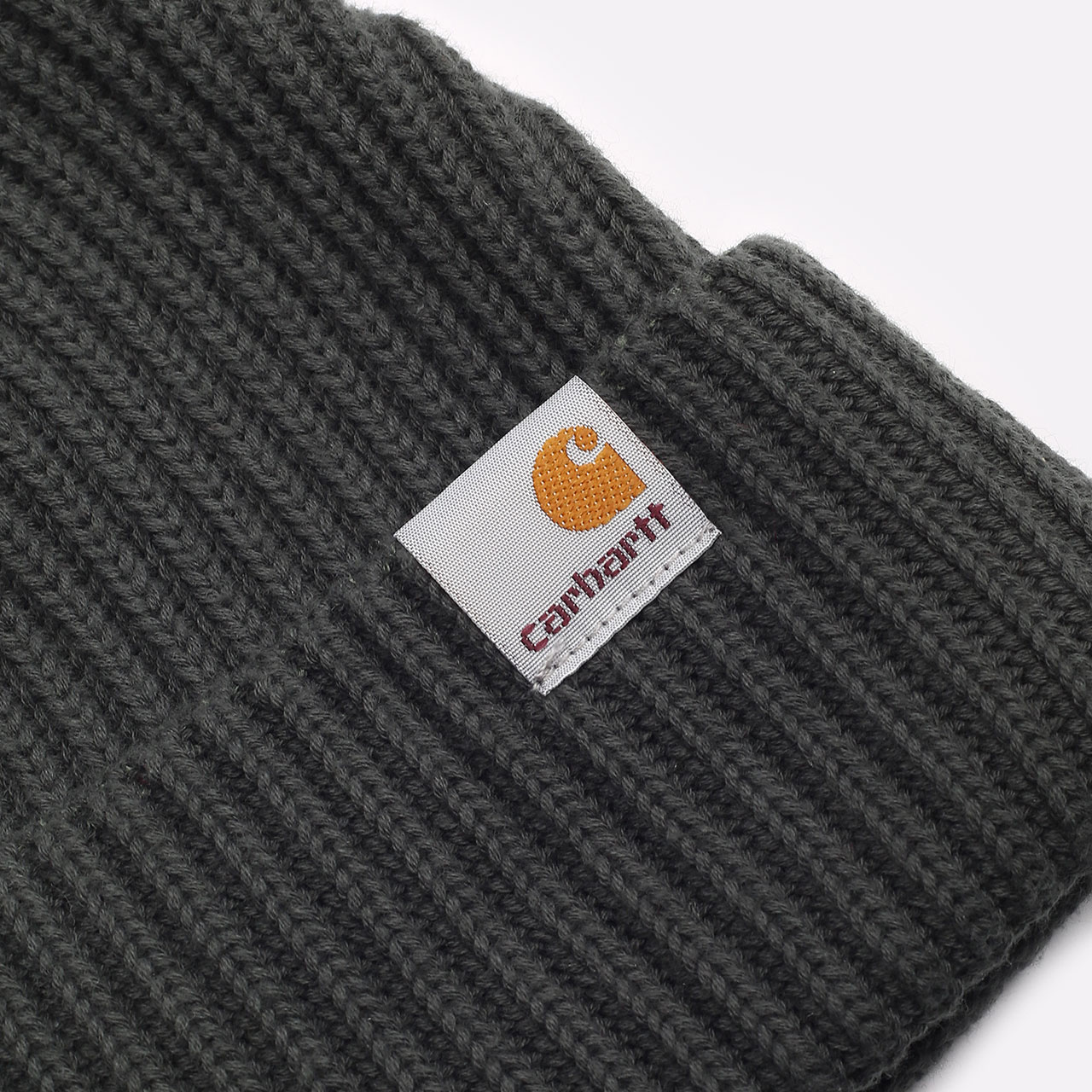 зеленая шапка Carhartt WIP Burbank Beanie I029491-slate - цена, описание, фото 2