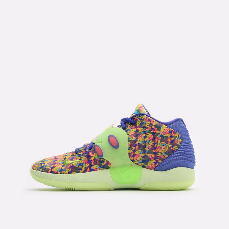 мужские разноцветные баскетбольные кроссовки Nike KD14 DO6903-400 - цена, описание, фото 2