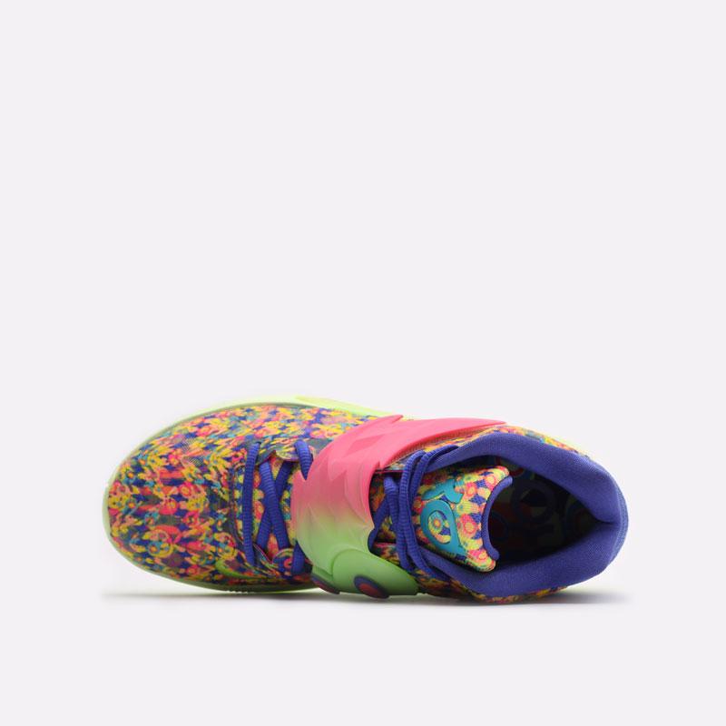 мужские разноцветные баскетбольные кроссовки Nike KD14 DO6903-400 - цена, описание, фото 6