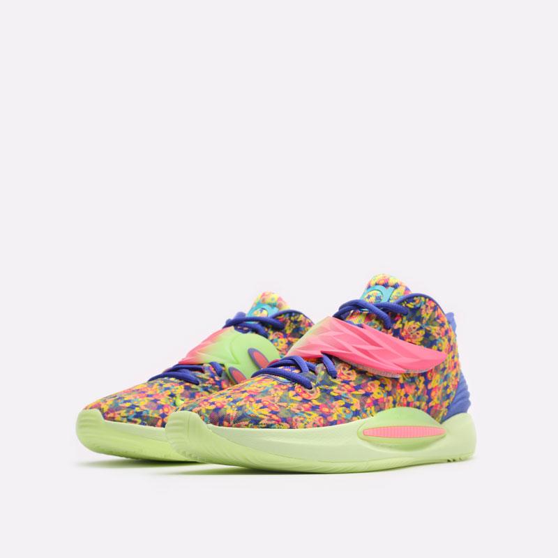 мужские разноцветные баскетбольные кроссовки Nike KD14 DO6903-400 - цена, описание, фото 4