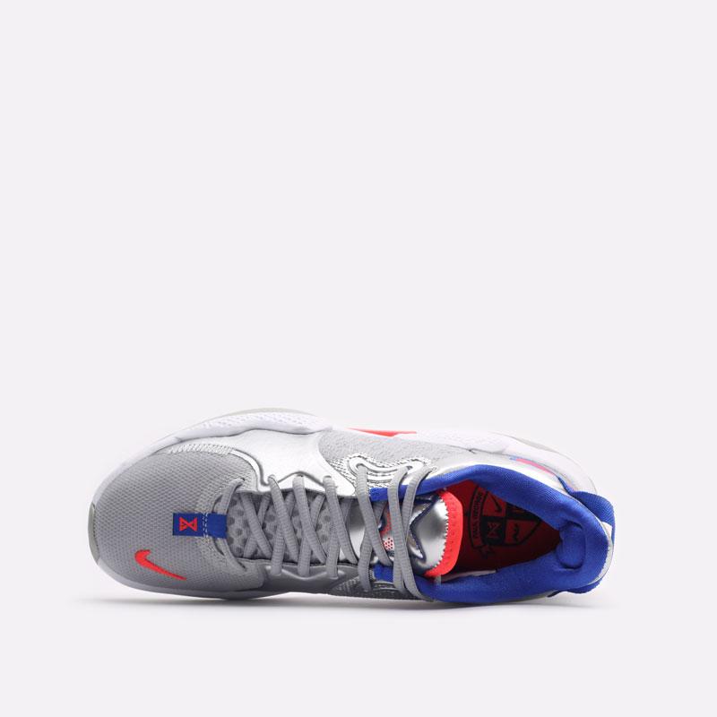мужские серые баскетбольные кроссовки Nike PG 5 CW3143-005 - цена, описание, фото 6