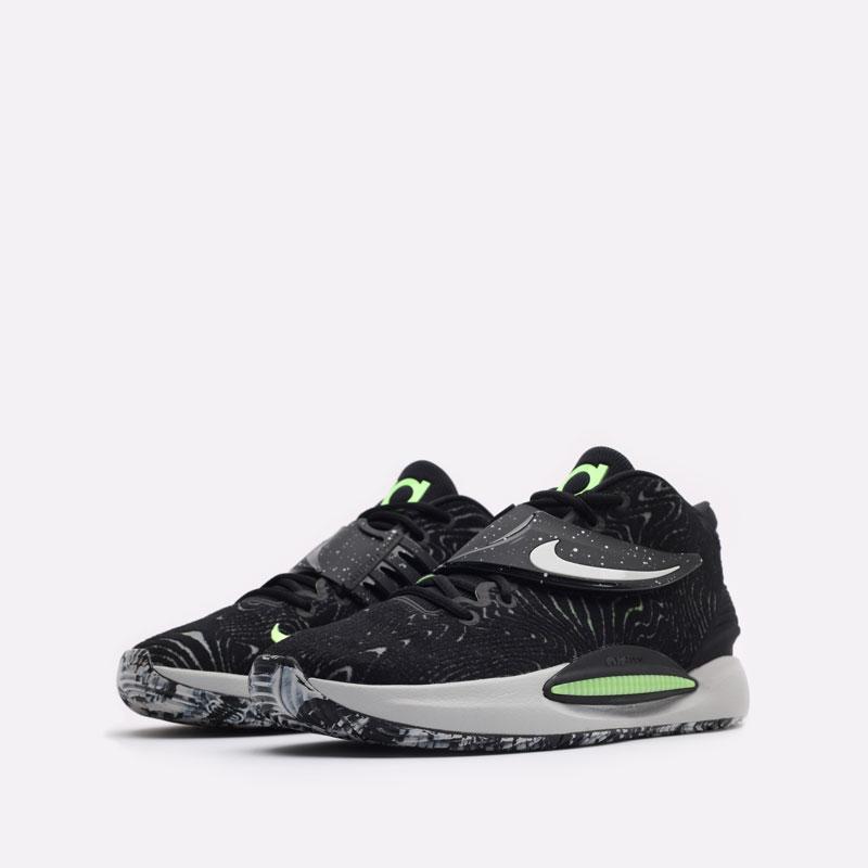 черные баскетбольные кроссовки Nike KD14 CW3935-005 - цена, описание, фото 4