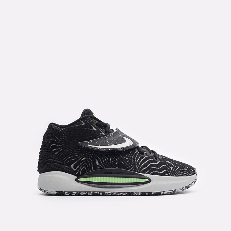 черные баскетбольные кроссовки Nike KD14 CW3935-005 - цена, описание, фото 1