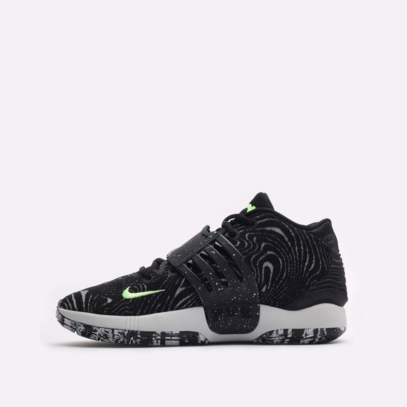 черные баскетбольные кроссовки Nike KD14 CW3935-005 - цена, описание, фото 2