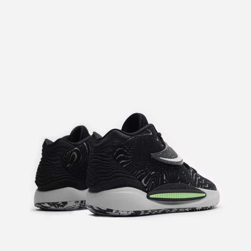 черные баскетбольные кроссовки Nike KD14 CW3935-005 - цена, описание, фото 3