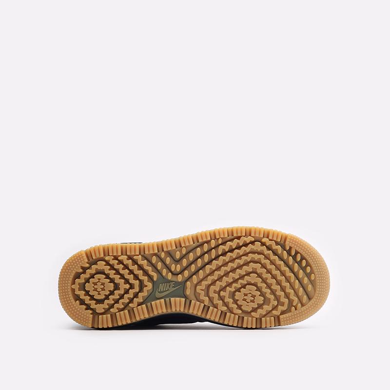 мужские черные кроссовки Nike Air Force 1 Luxe DB4109-001 - цена, описание, фото 7