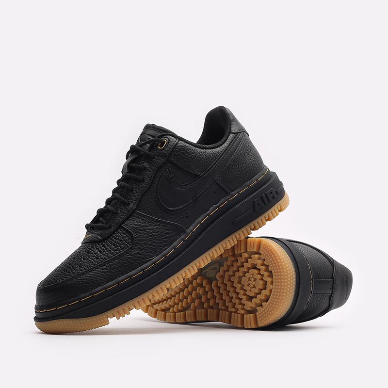 мужские черные кроссовки Nike Air Force 1 Luxe DB4109-001 - цена, описание, фото 2